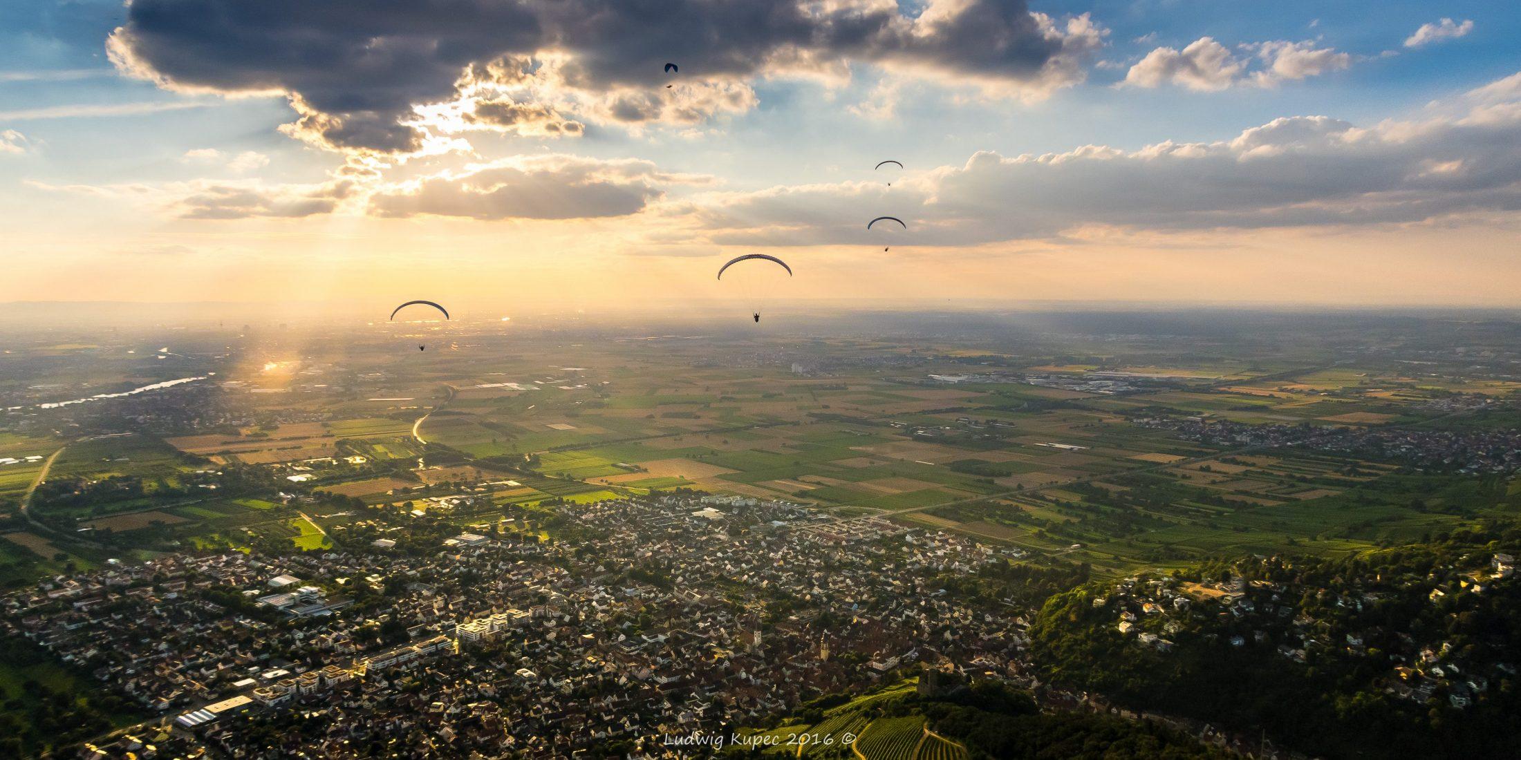Paragliding Ölberg
